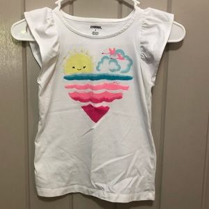 Cute Sleeveless Gymboree Top in a Girl's Size 8